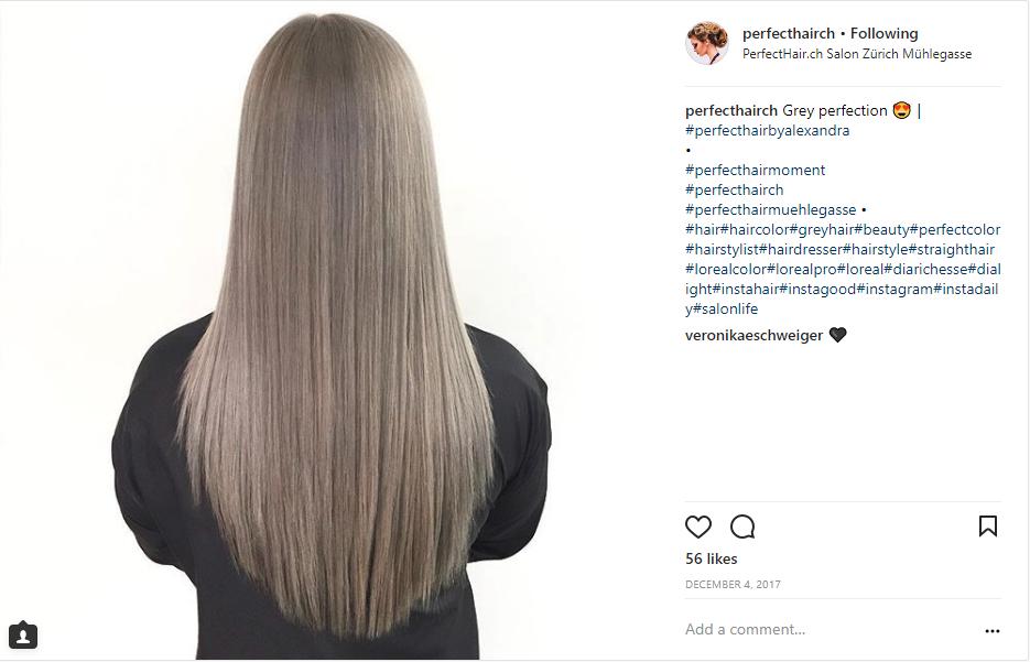 blondierte haare gelbstich entfernen