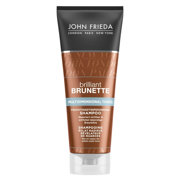 Brilliant Brunette - Multidimensional Tones Feuchtigkeitsspendendes Shampoo
