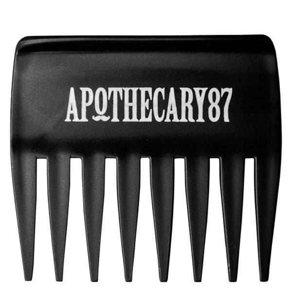 Image of Apothecary87 Grooming - Streaker Comb Black 10cm x 9cm