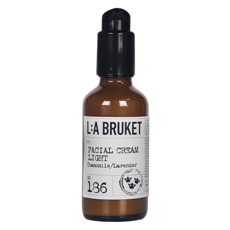 L:A Bruket - No.186 Facial Cream Light Chamomile/Lavender - 50ml