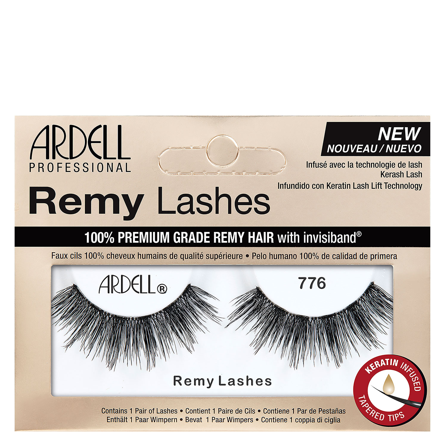 Ardell False Lashes - Remy Lashes 776 - 1x