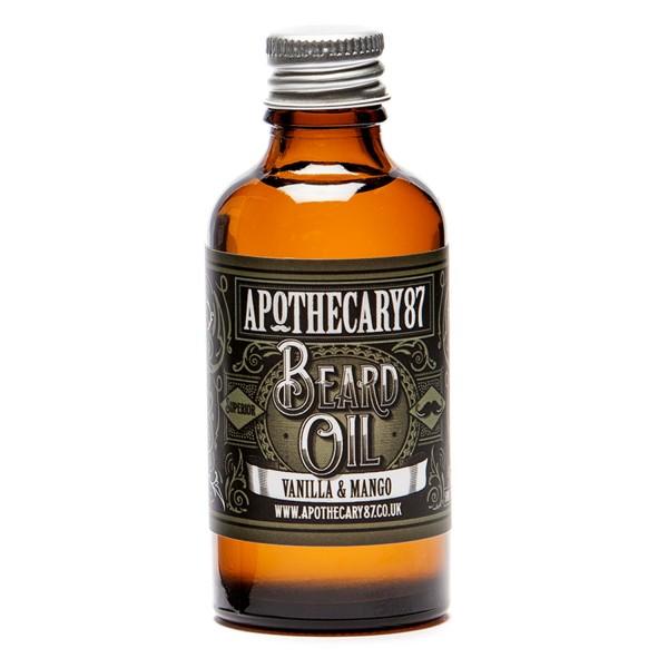 Image of Apothecary87 Grooming - Beard Oil Vanilla & Mango Fragrance