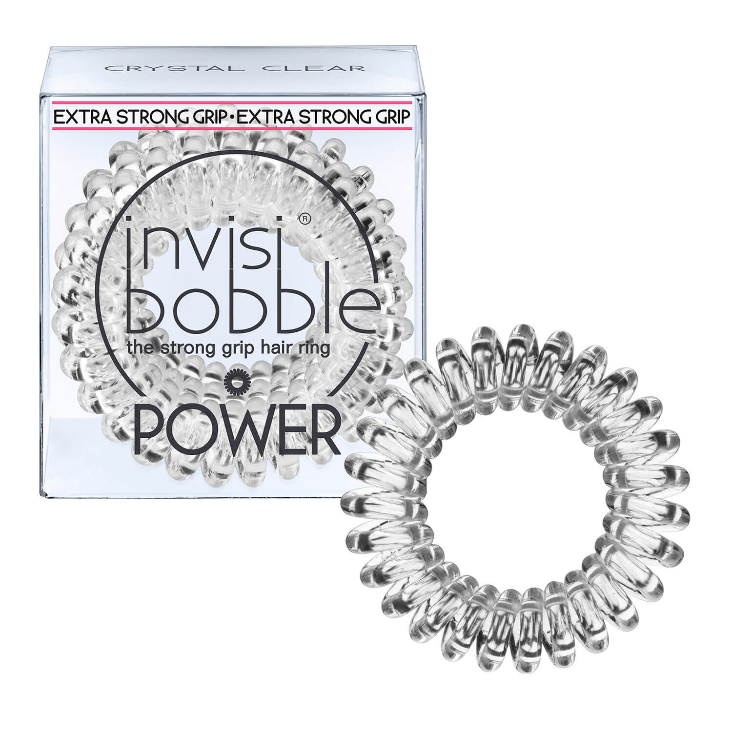 invisibobble POWER - Crystal Clear -