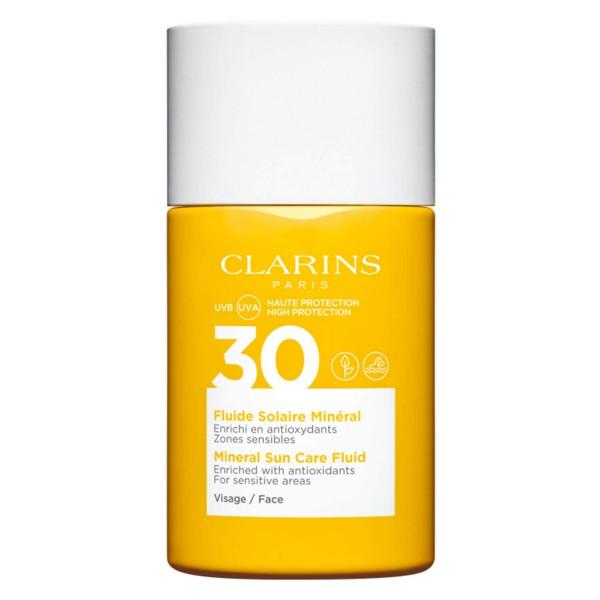 Clarins Sun - Fluide Solaire Minéral Visage SPF30