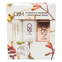 O&M Haircare - Hydrate & Conquer Set
