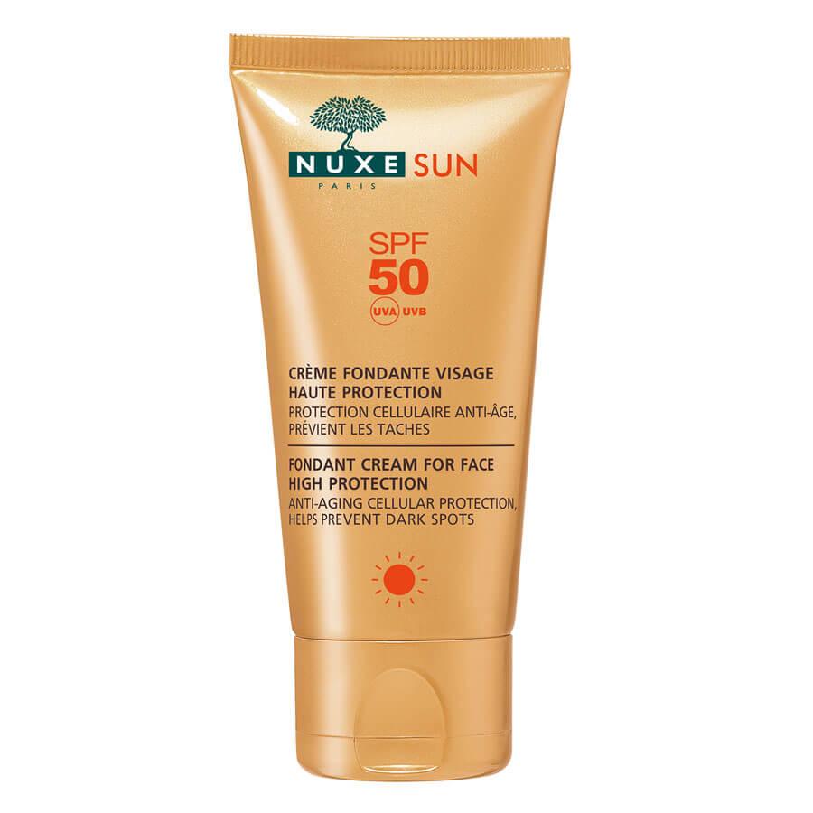 Nuxe Sun - Crème Visage Fondante Haute Protection SPF50 - 50ml