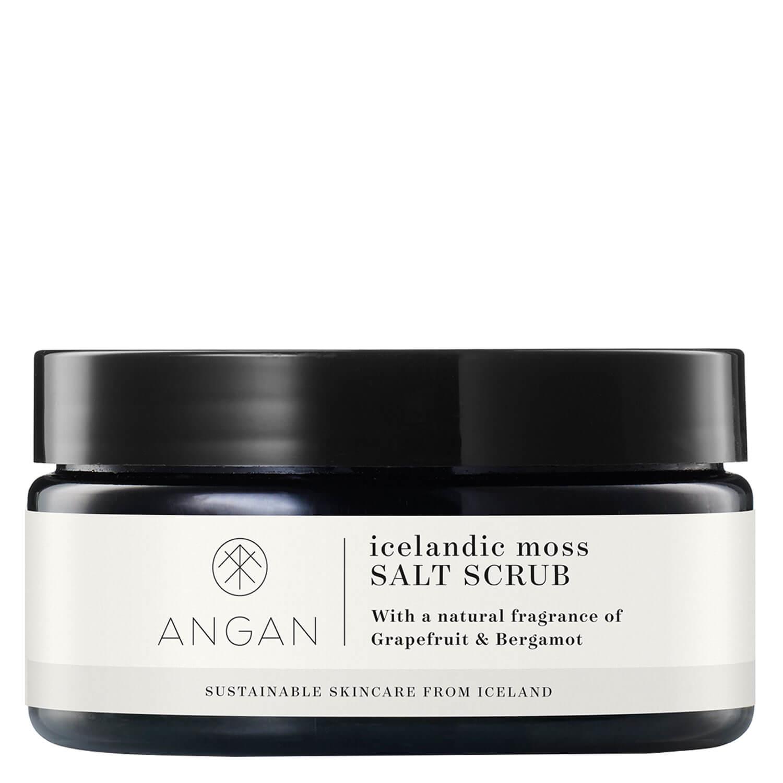 ANGAN - Icelandic Moss Salt Scrub - 300g