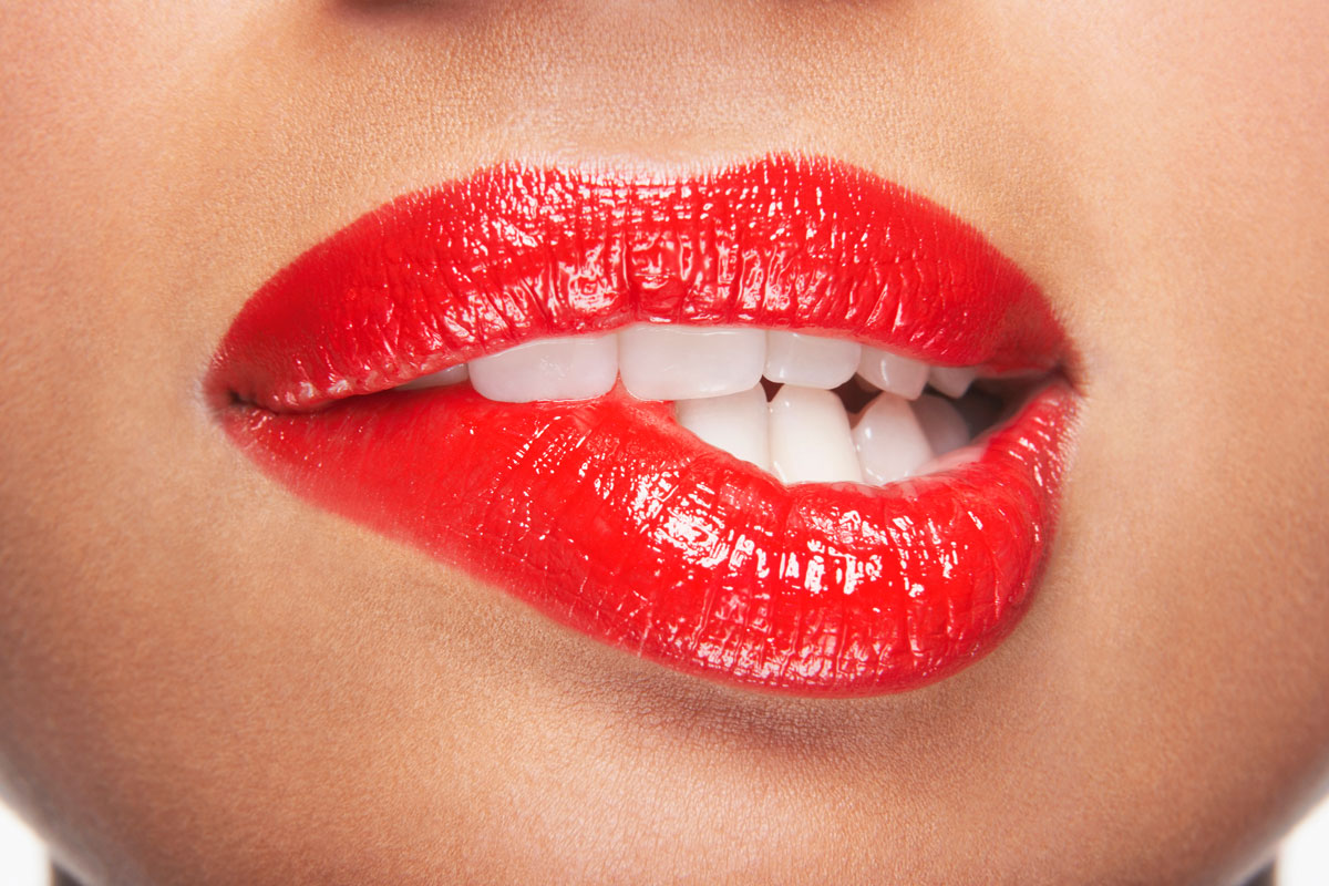 Rote-Lippen
