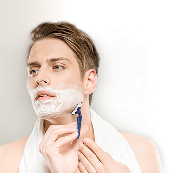 Shaving products for men