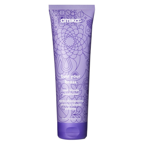 Image of amika care - BUST YOUR BRASS cool blonde conditioner