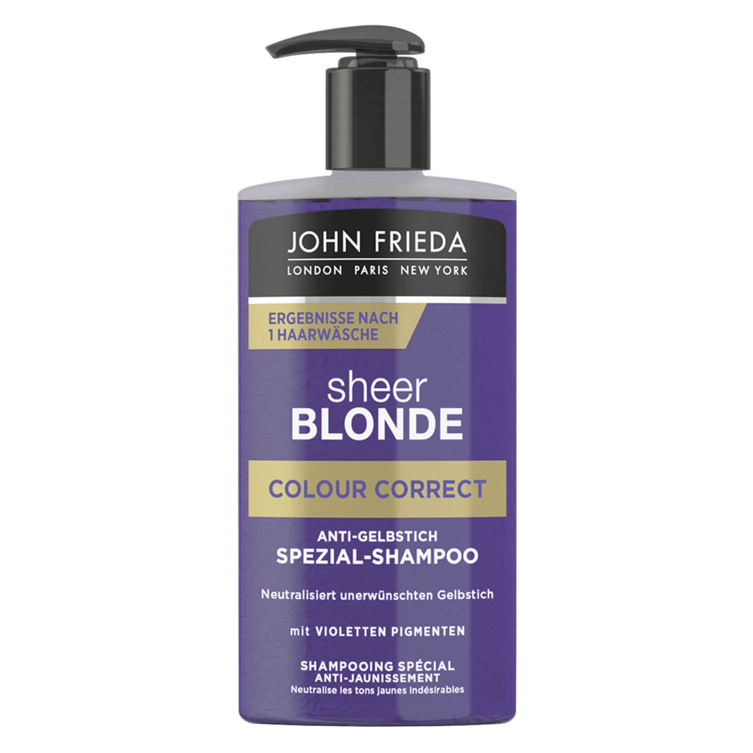 Sheer Blonde - Colour Correct Anti-Gelbstich Spezial-Shampoo - 200ml