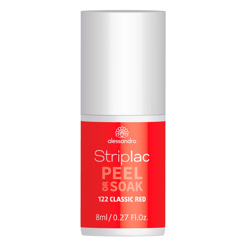 Striplac Peel or Soak - Classic Red - 8ml