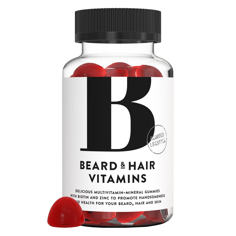 Bearded Lifestyle - Beard & Hair Vitamins Gummies - 60x