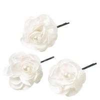 Celebride - Fleurs Sur Épingle Blanc 6cm 3x