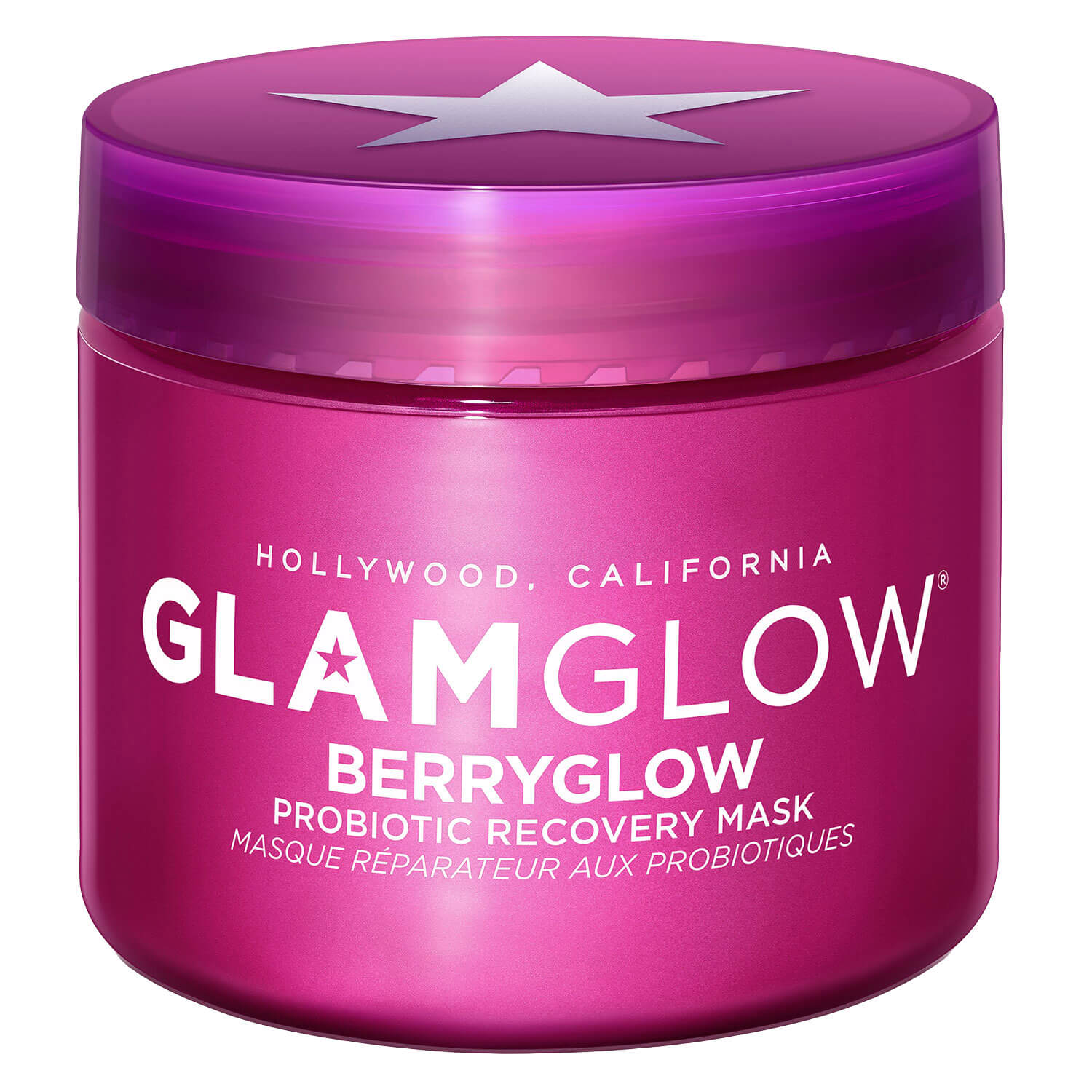 GlamGlow Mask - BERRYGLOW Probiotic Recovery Mask - 75ml
