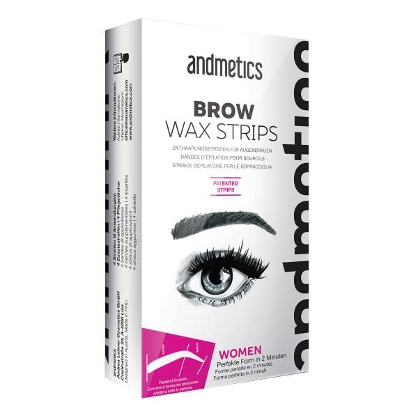 Image of andmetics - Brow Wax Strips Women