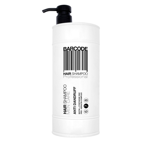 Image of Barcode Men Series - Hair Shampoo Anti Dandruff