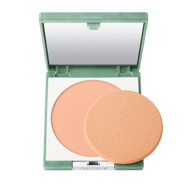 Clinique - Stay-Matte Sheer Pressed Powder - 17 Stay Golden