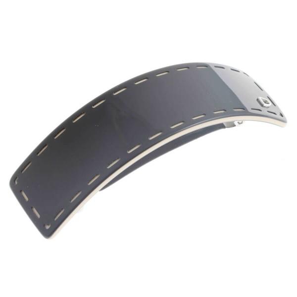 Devisage - Devisage - Barrette handmade schwarz 9.5cm