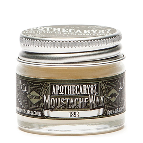 Image of Apothecary87 Grooming - Moustache Wax 1893 Fragrance