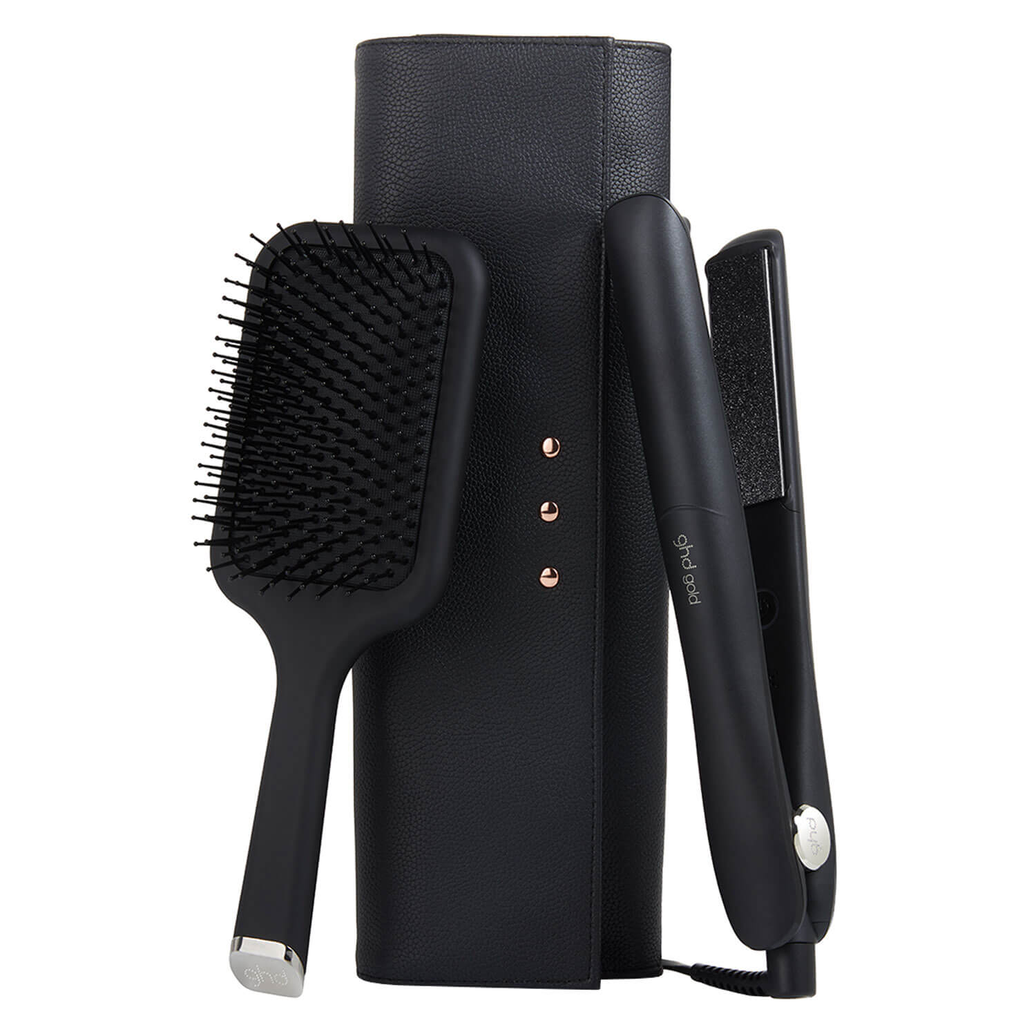 ghd Tools - Gold Professional Iconic Styler & Paddle Brush Set -