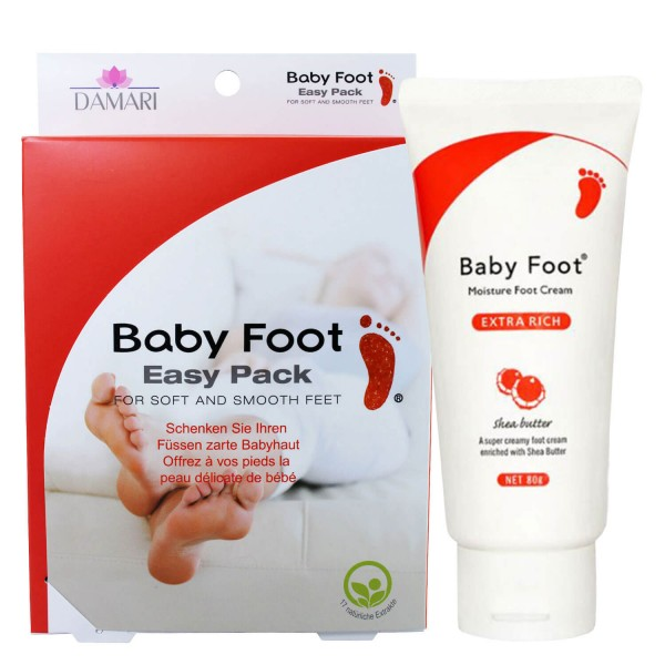 Image of Baby Foot - Easy Pack & Extra Rich Cream Set