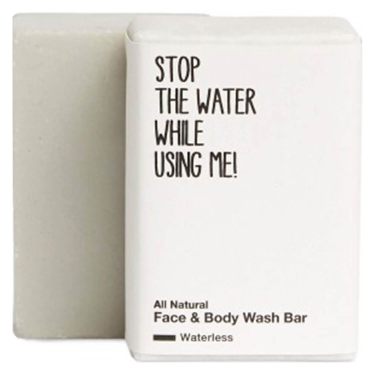 All Natural Body - Waterless Face & Body Wash Bar - 110g