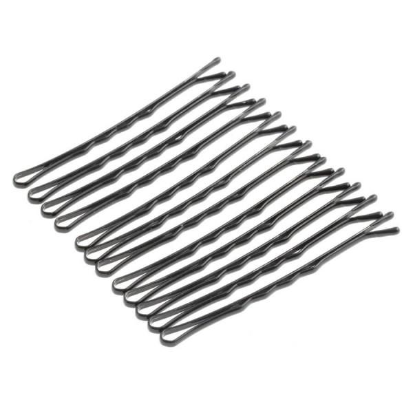DailyGO - DailyGO - Haarpin gewellt schwarz 6 cm