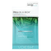 VOESH New York - Pedi In A Box Deluxe 4 Step Ecualyptus Energy Boost