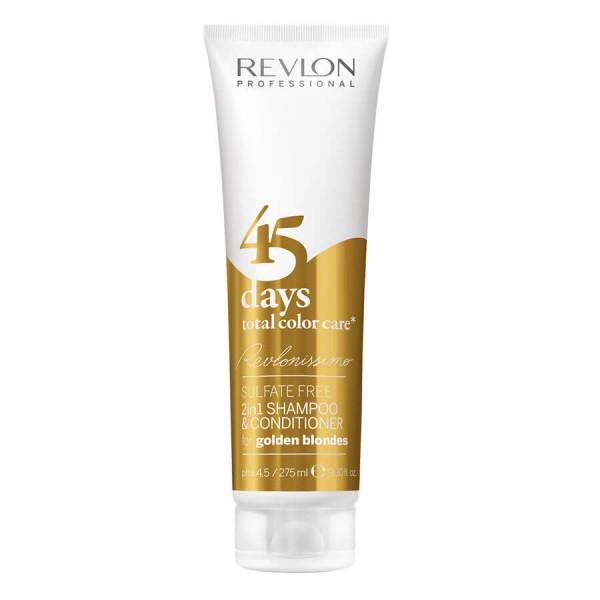 Revlon Professional - Revlonissimo - 2in1 Shampoo&Balm golden blondes