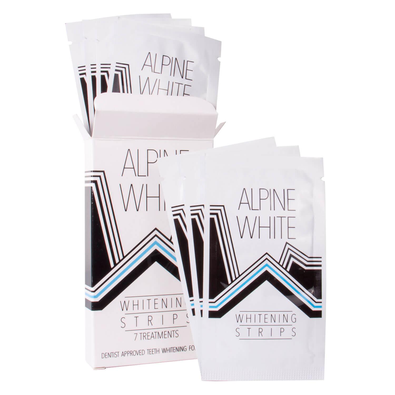 ALPINE WHITE - Whitening Strips - 7x