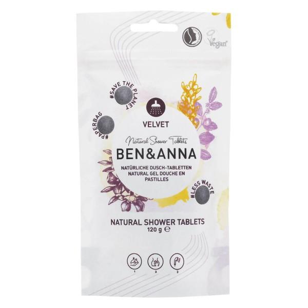 Image of BEN&ANNA - Natural Shower Tablets Velvet