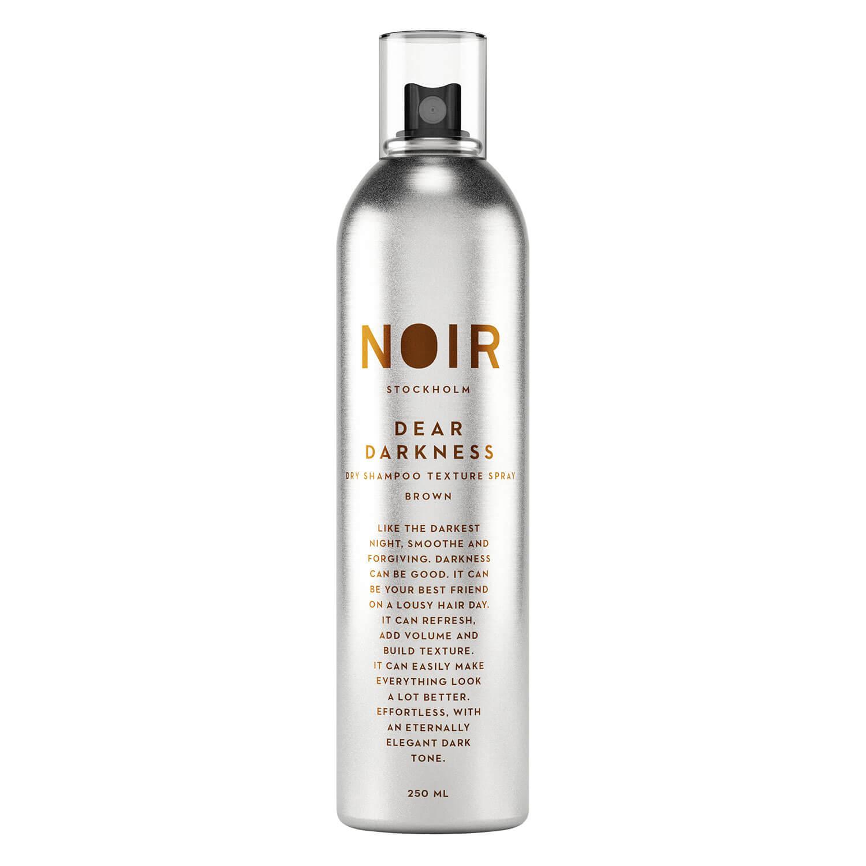 NOIR - Dear Darkness Dry Shampoo Brown - 250ml