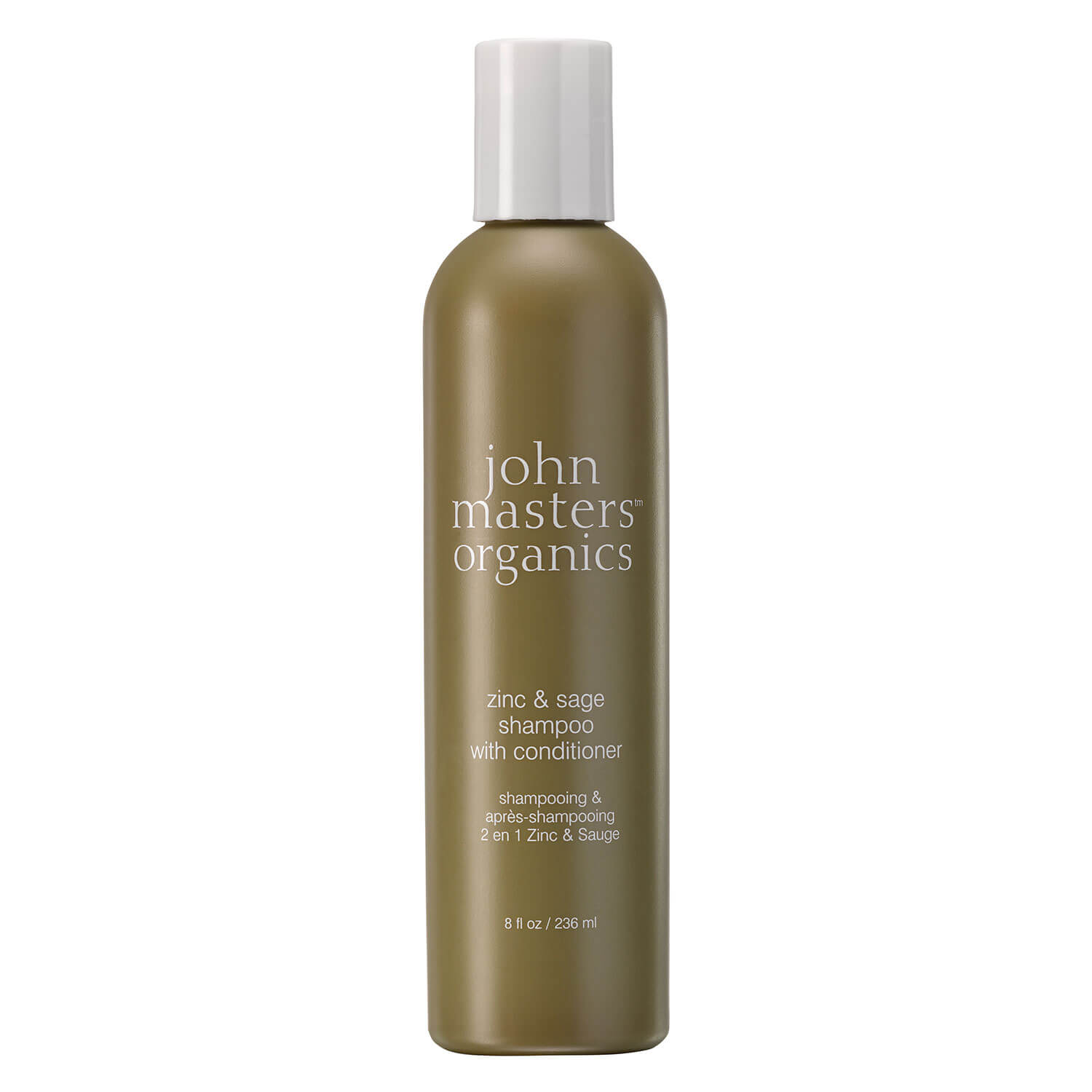 JMO Hair Care - Zinc & Sage Shampoo and Conditioner - 236ml
