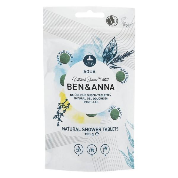 Image of BEN&ANNA - Natural Shower Tablets Aqua
