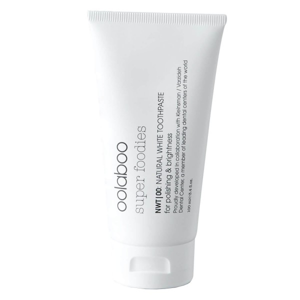 super foodies - natural white toothpaste