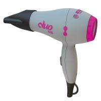 Kiepe - duo mini travel hairdryer Grey/Pink