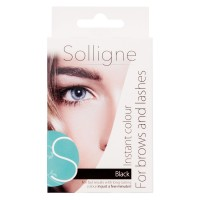 Solligne - Instant Colour for Brows and Lashes Black