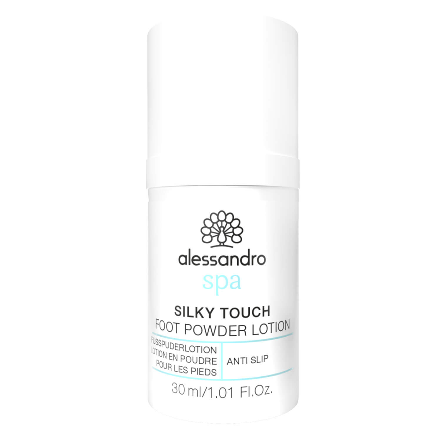 Alessandro Spa - Foot Silky Touch Foot Powder Lotion - 30ml