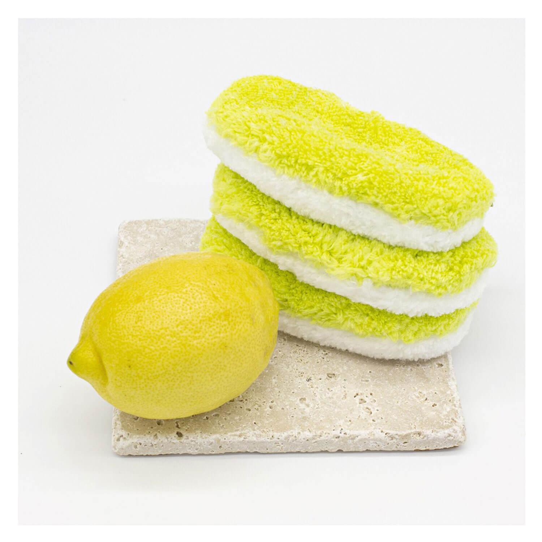 Waschies Faceline - Abschminkpads & Waschpads Sommer Gelb Summer-Edition - 3x