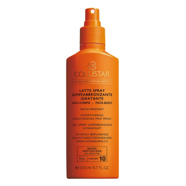 Collistar - CS Sun - Supertanning Moisturizing Milk Spray SPF10