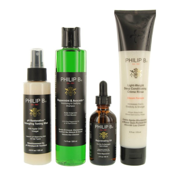 Image of Philip B - Four Step Hair + Scalp Treatment Kit Classic