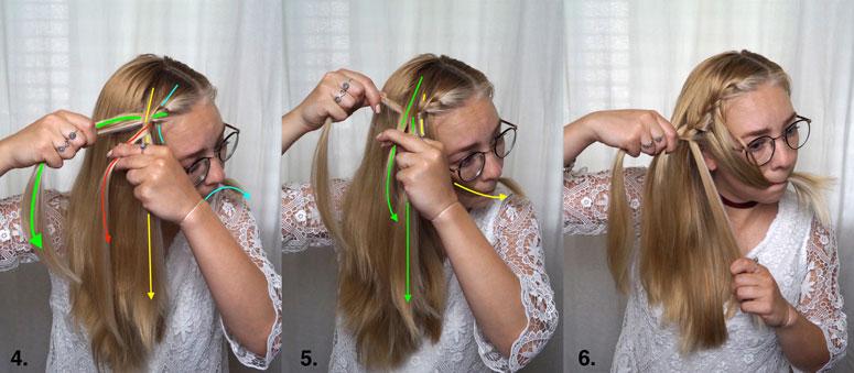 Frisuren anleitung wasserfall