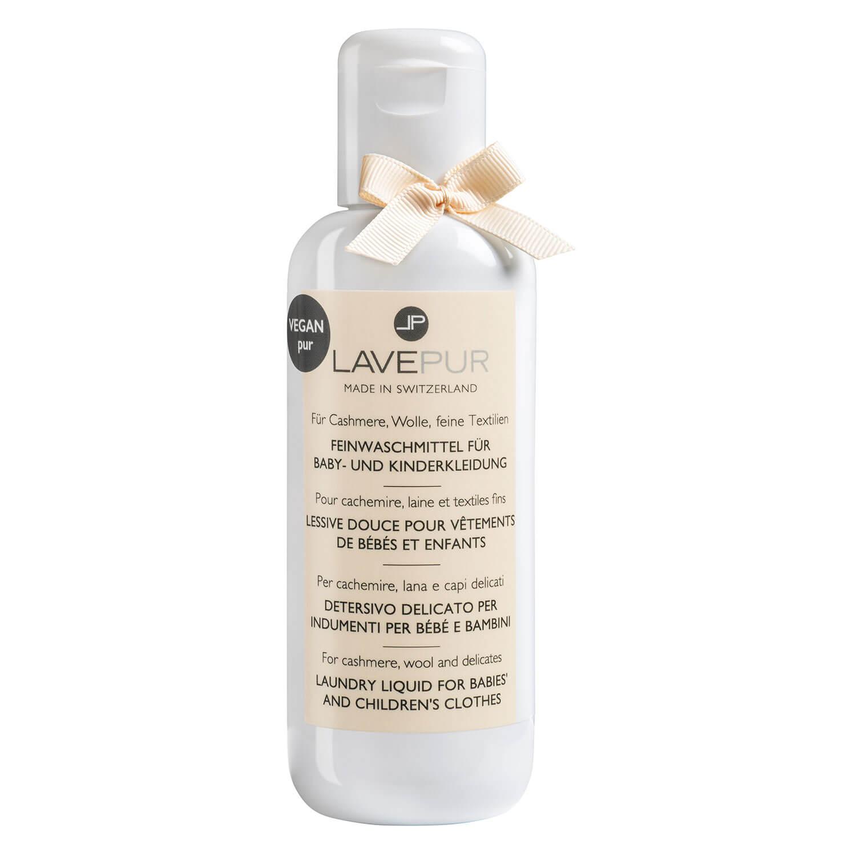 LAVEPUR - Parfümiertes Feinwaschmittel Für Baby- & Kinderkleidung - 250ml