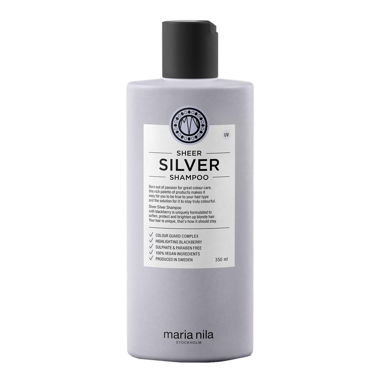 Care & Style - Sheer Silver Shampoo - 350ml