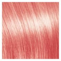 SHE Bonding-System Hair Extensions Fantasy Straight - Dunkelpink 55/60cm