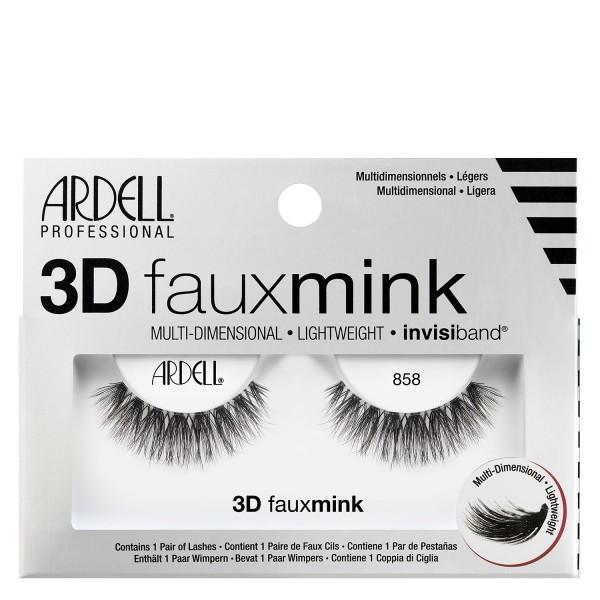 Ardell False Lashes - 3D Faux Mink 858