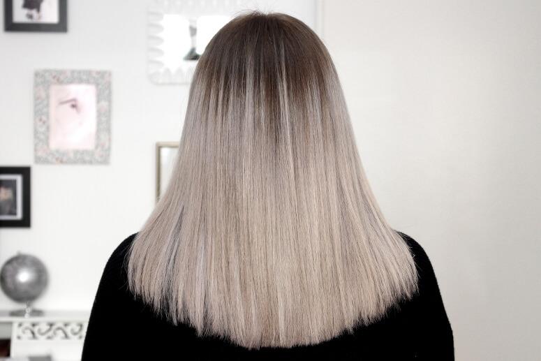Aschblond färben haare graue HILFE!!! Hab