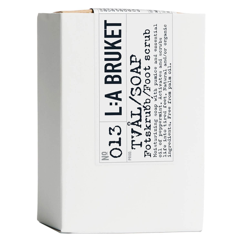 L:A Bruket - No.013 Bar Soap Foot Scrub Peppermint - 120g