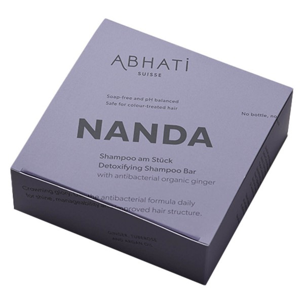 Image of ABHATI Suisse - Nanda Detoxifying Shampoo Bar